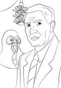 Garrett Morgan Coloring Page Coloring Pages Famous African Americans Color