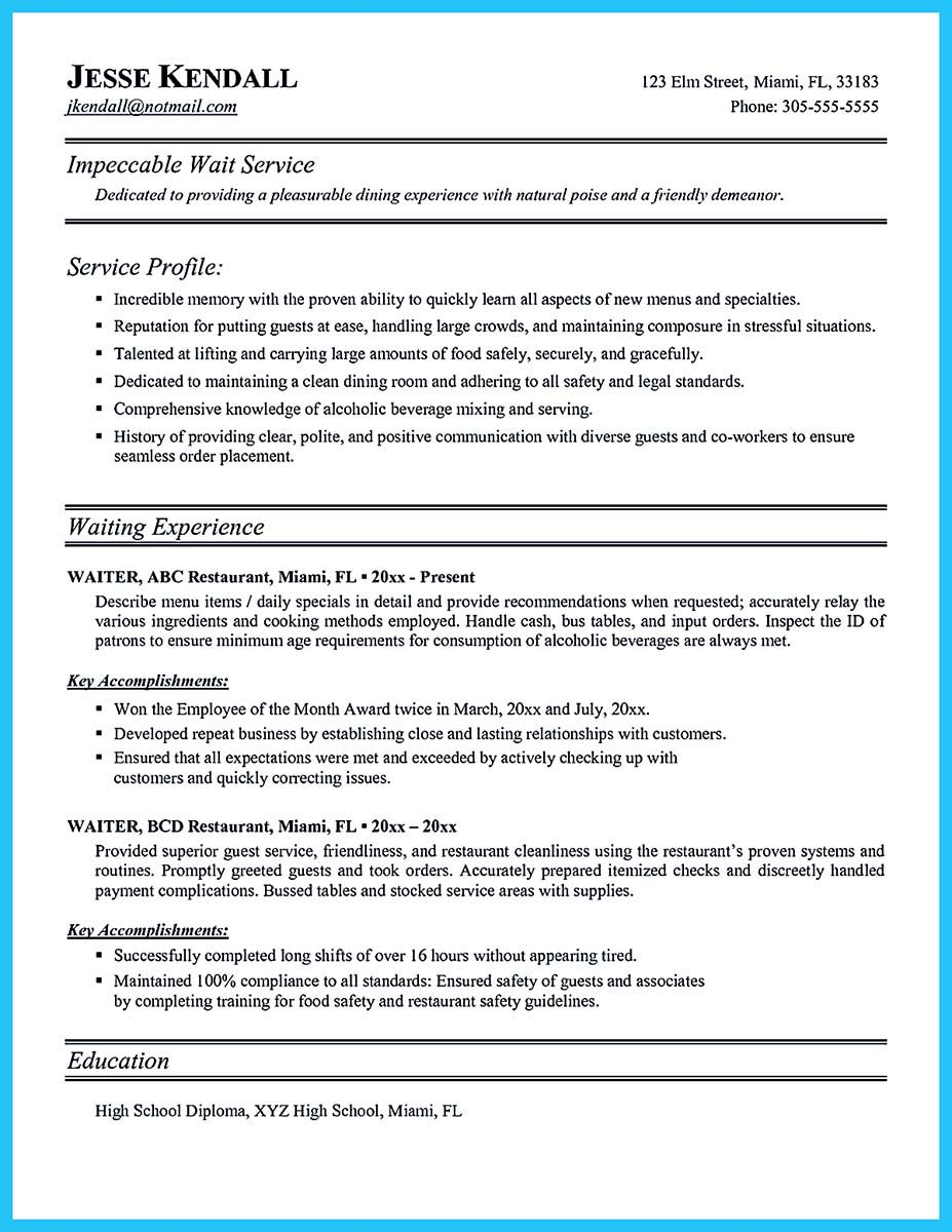 internet offers various bartender resume template and samples that allow us to make the bartender resume - Sample Bartending Resume