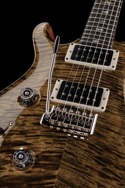 PRS Custom 24 10 Top Obsidian Lefthand, E-guitar Colour: Obsidian #music #thomann #prs