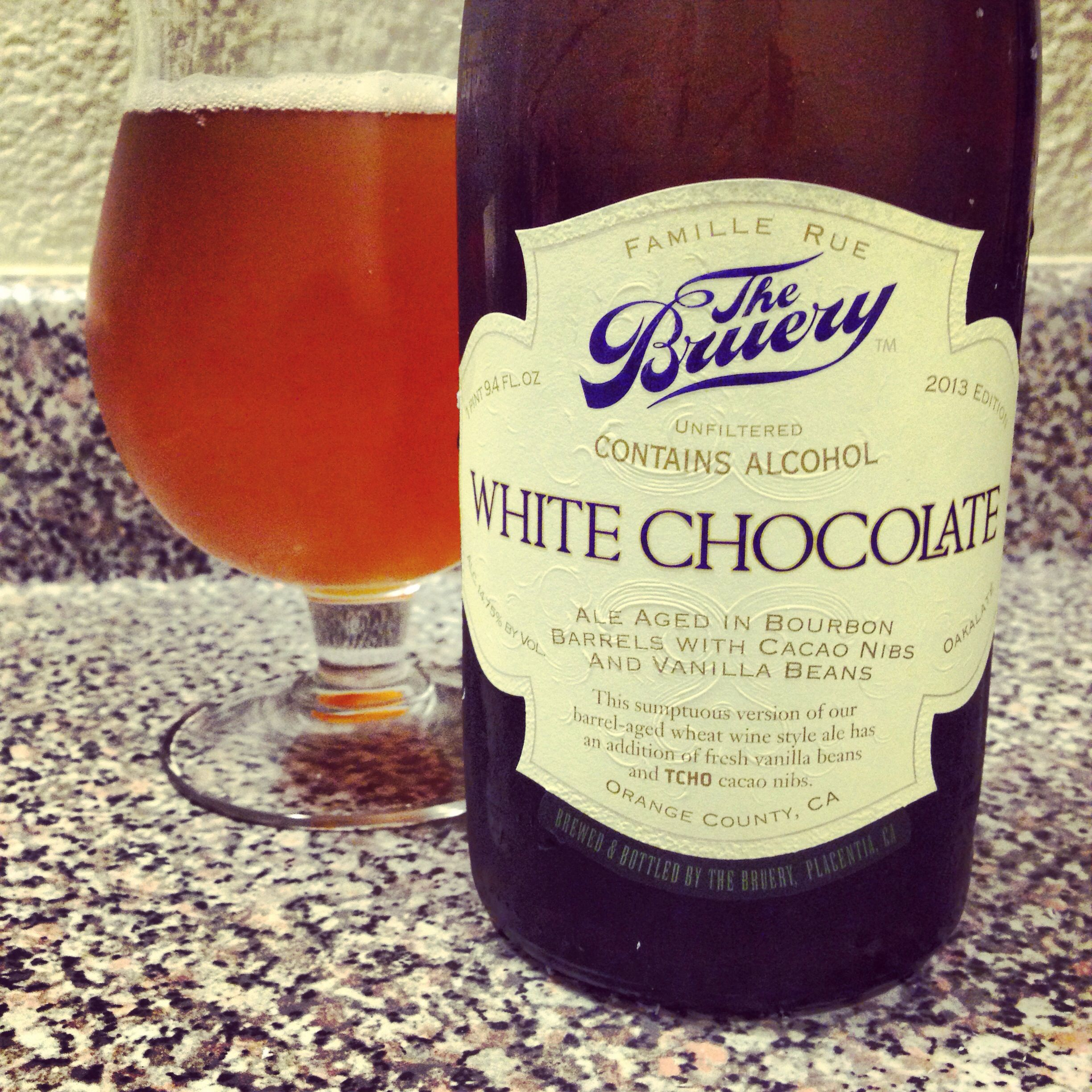 The Bruery White Chocolate With Images Craft Beer Bruery