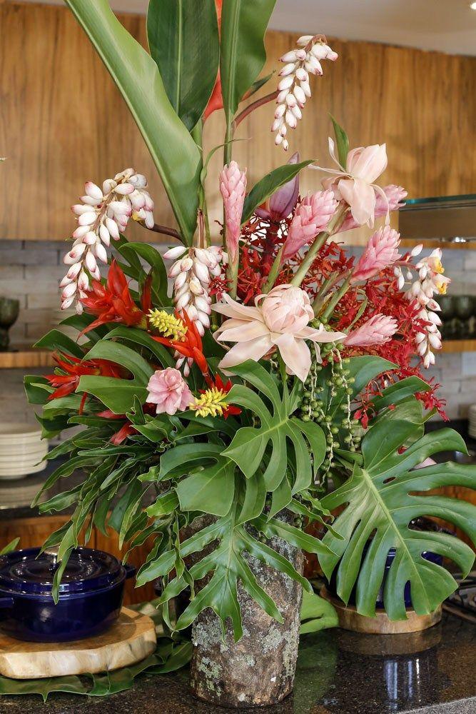 Sorria Voce Esta Na Bahia Arranjos De Flores Tropicais