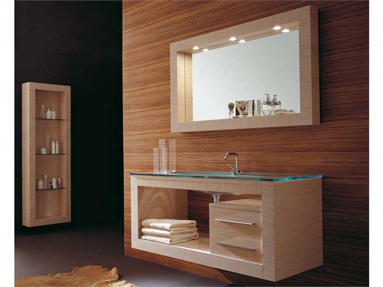 Mobile lavabo sospeso con cassetti IKS 12 Collezione Iks by LASA ...