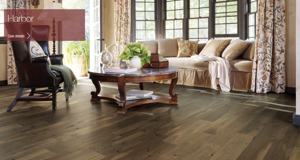 Warm Chocolate Browns Make This Stunning Acacia Floor Stand Out In