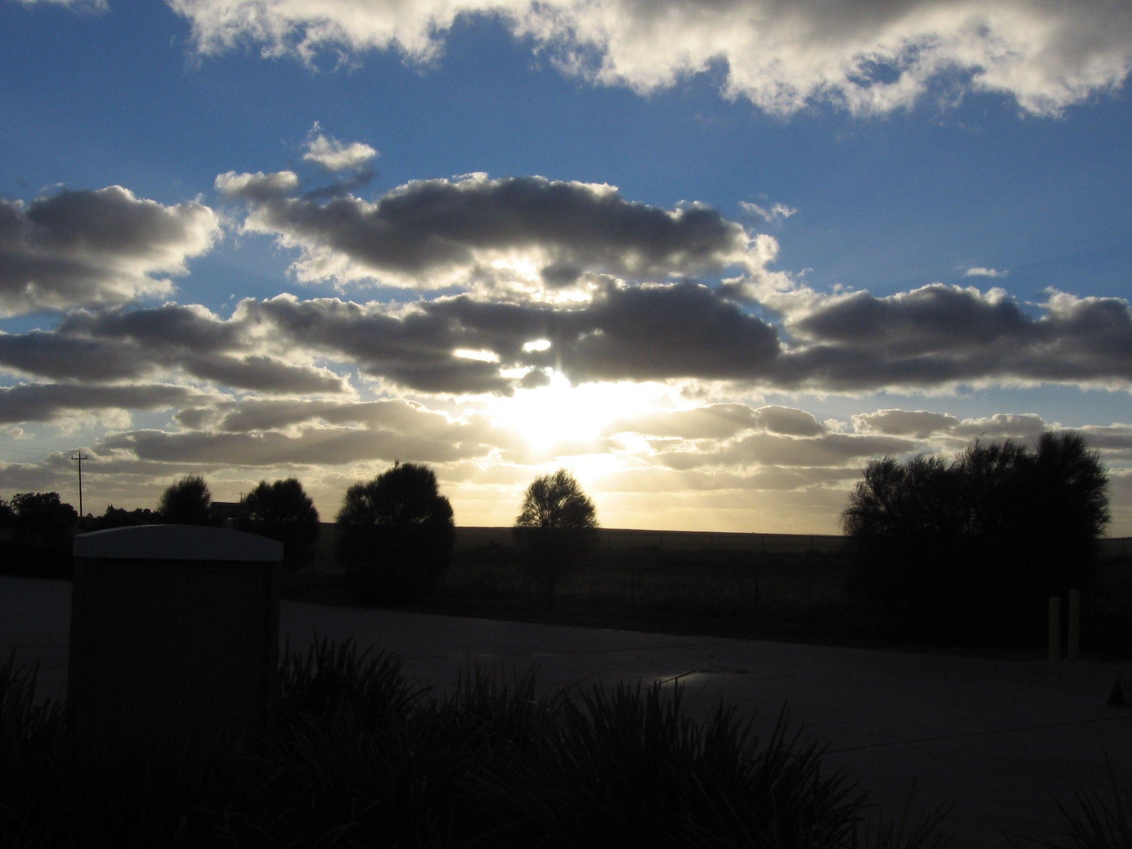 Australian sunset November 2011 Sunset, Celestial, Outdoor
