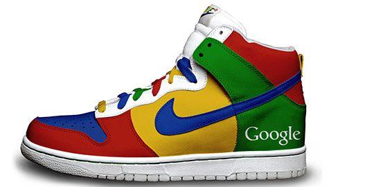 nike google dunks