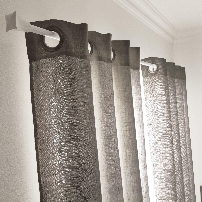 un rideau gris granit pour un style
