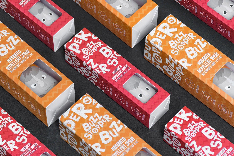 Pin-badge packaging - laura chris. mcgregor