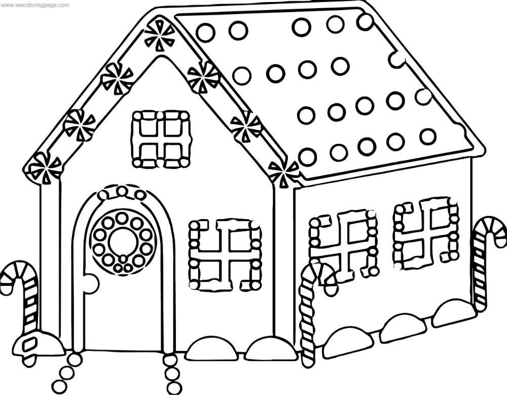 Coloring Pages Gingerbread House Pdf House Colouring Pages Free Christmas Coloring Pages Free Printable Coloring