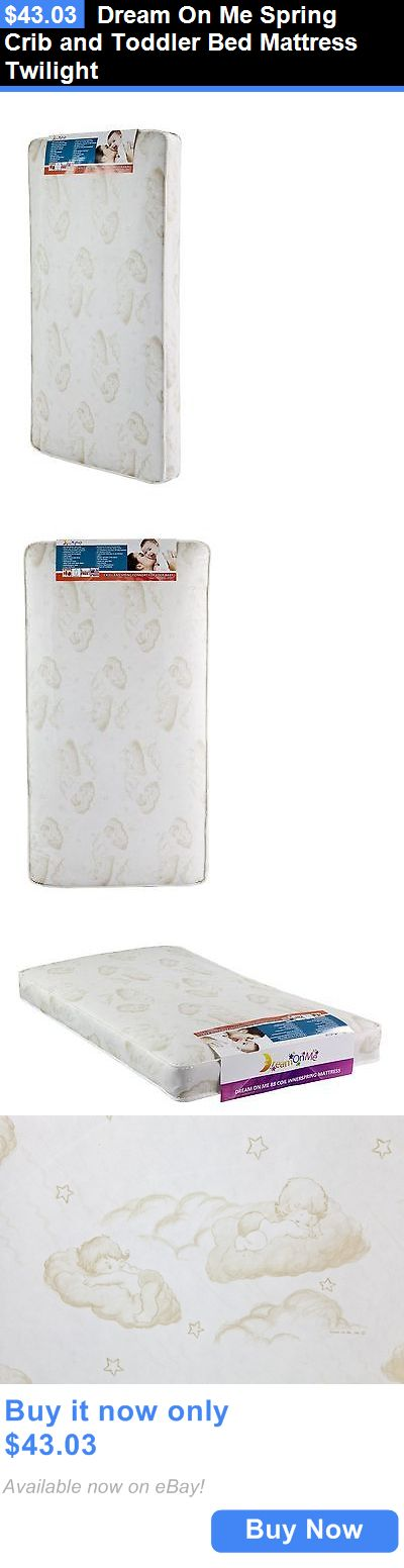 Baby Nursery Dream On Me Spring Crib And Toddler Bed Mattress