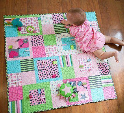 Free Fat Quarter-Friendly Quilt Patterns | AllPeopleQuilt.com ... : quilts for babies patterns - Adamdwight.com