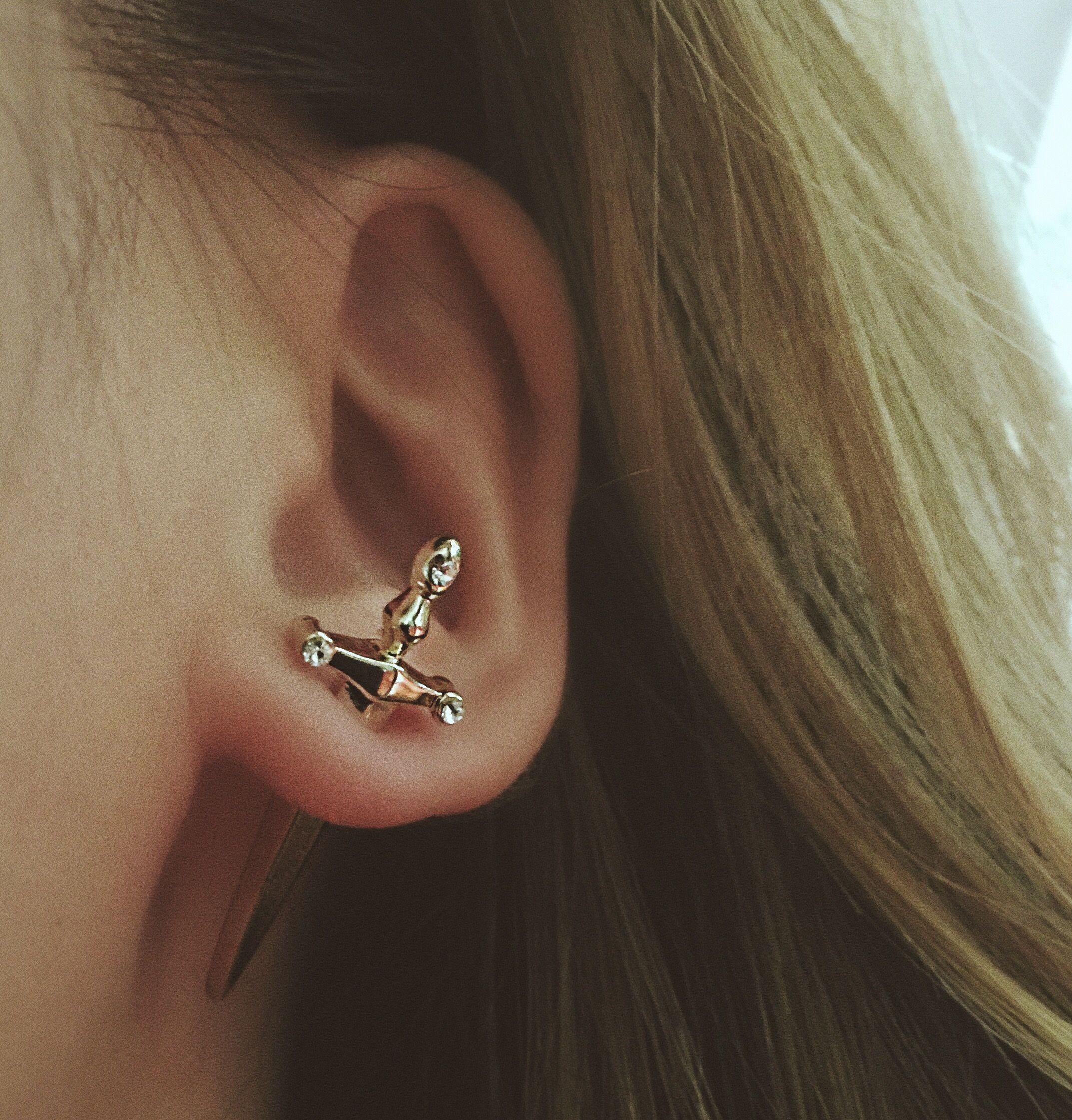 730693b43 Sword Stud Earring | Adornments | Jewelry, Earrings, Fashion
