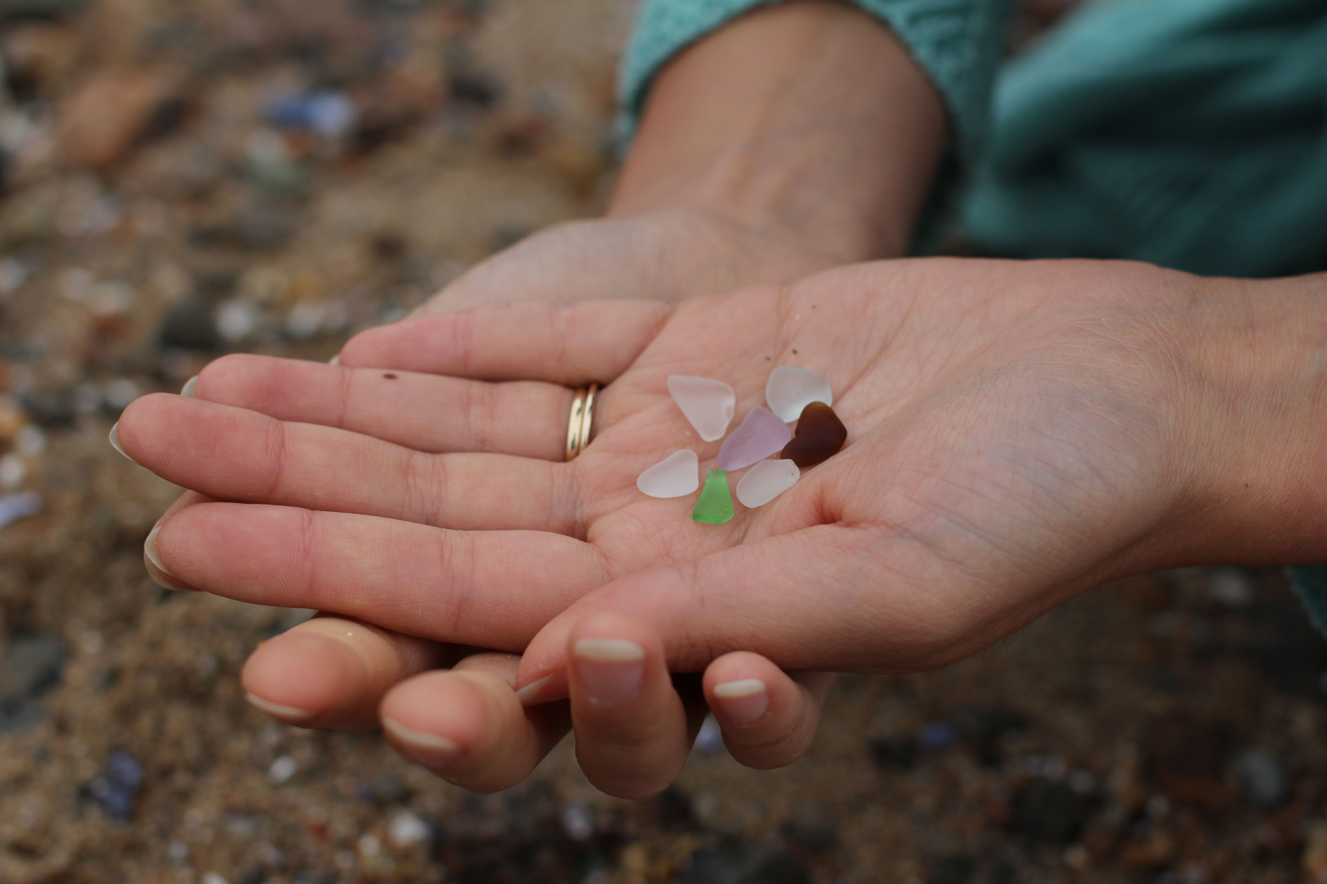 Seaglass from Gloucester, MA