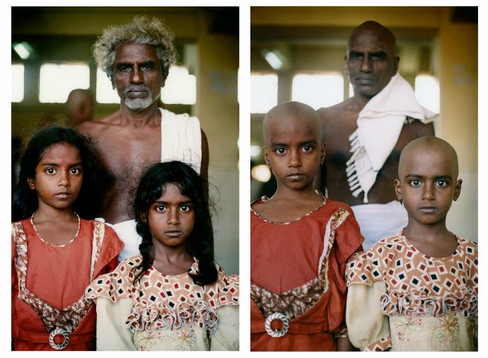 The human hair trade - Tirupati, India - Adrian Fisk