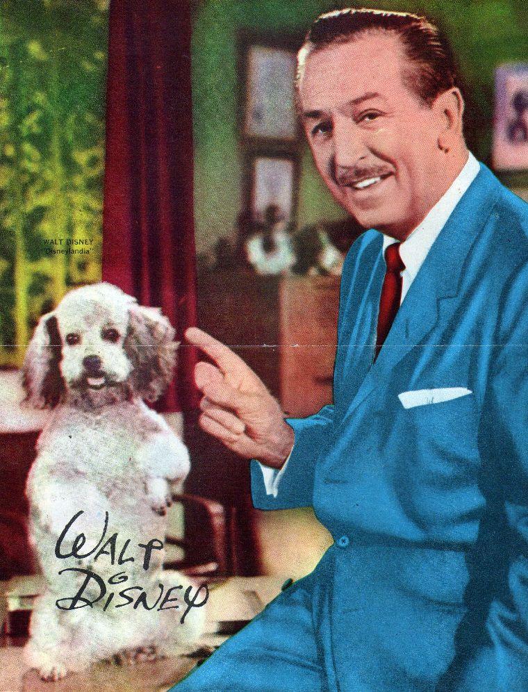 Pictures Of Walt Disney In Color