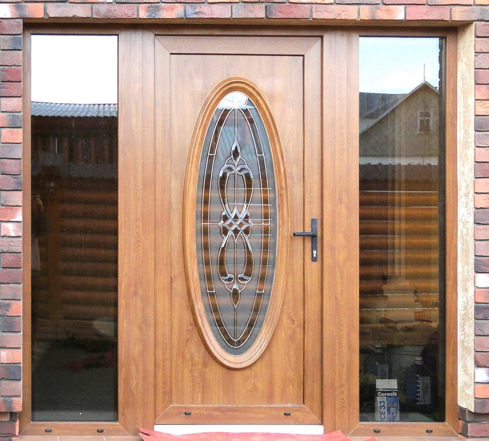 Входные Пластиковые Двери для Частного Дома - 145+ (Фото ...