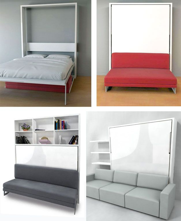 A Couch Bed Murphy Wall Bed Couch Combo u2013 With a Sofa in front | http:--