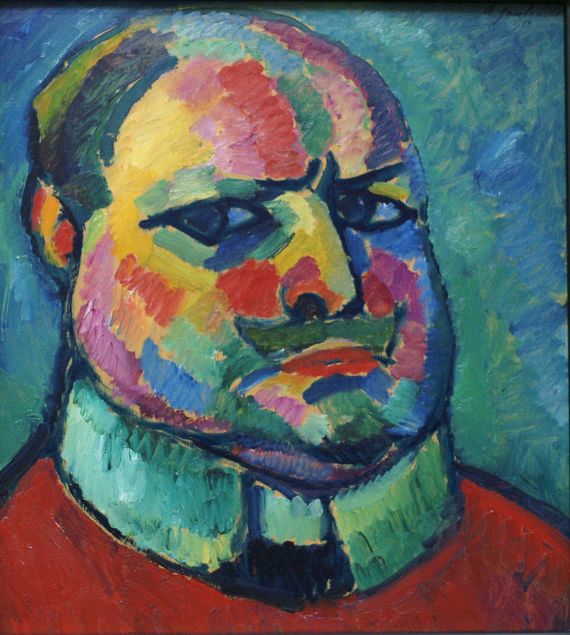 Alexej Von Jawlensky Selbstbildnis Selfportrait In 2020 Art Painting Oil Expressionist Painting Painting