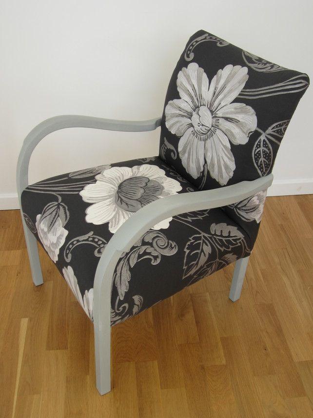 Antique Vintage Chair Designers Guild Amalienborg Fabric