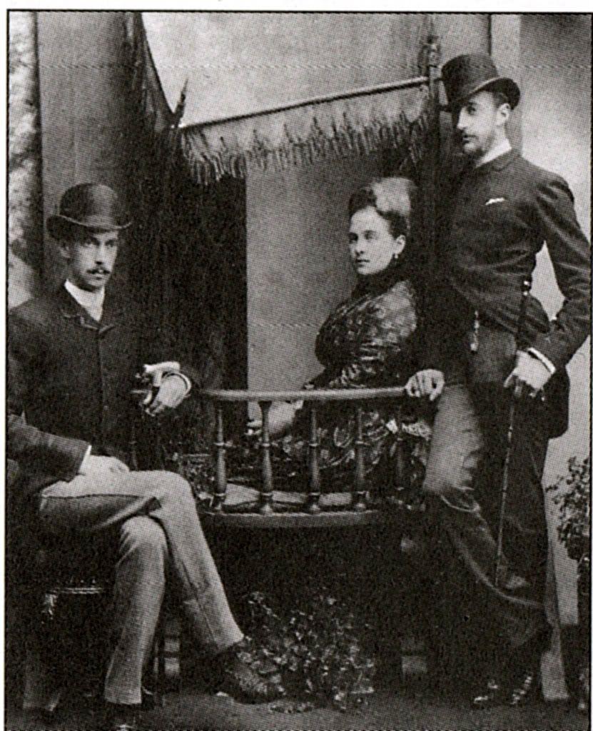 Grand Duke Pavel Alexandrovitch,his 1st wife Alexandra & their family