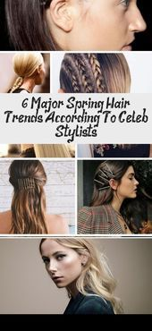 The messy bun is having a moment and we couldnt be happier about it See what else celebrity stylists are predicting for spring hair trends