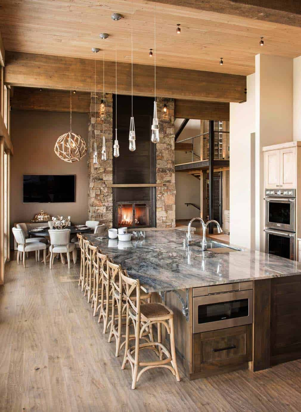 40 Unbelievable Rustic Kitchen Design Ideas To Steal #rustickitchendesigns