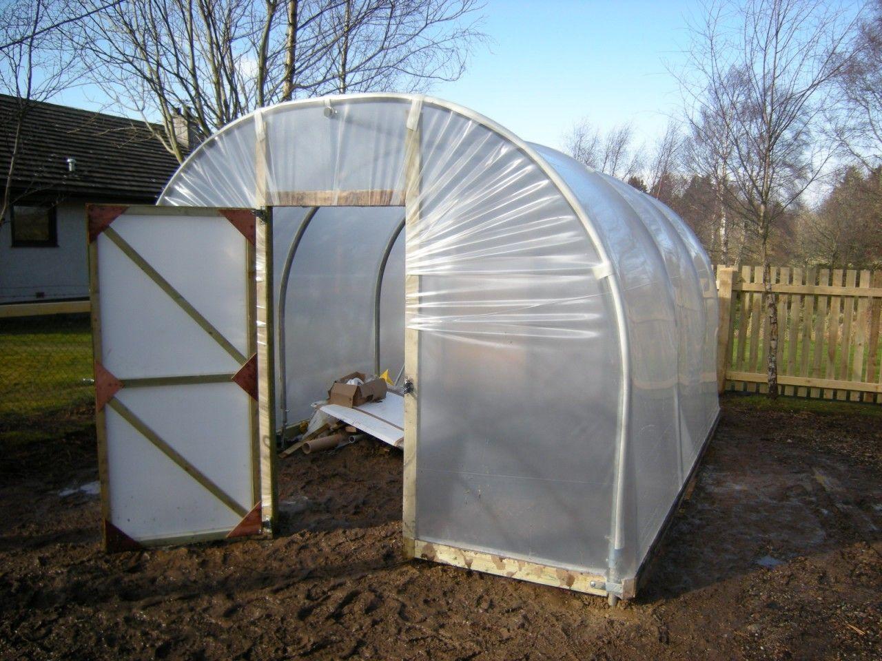 Highland Polytunnels Garden Polytunnel 10 X10 Basic Kit 5 Ing S