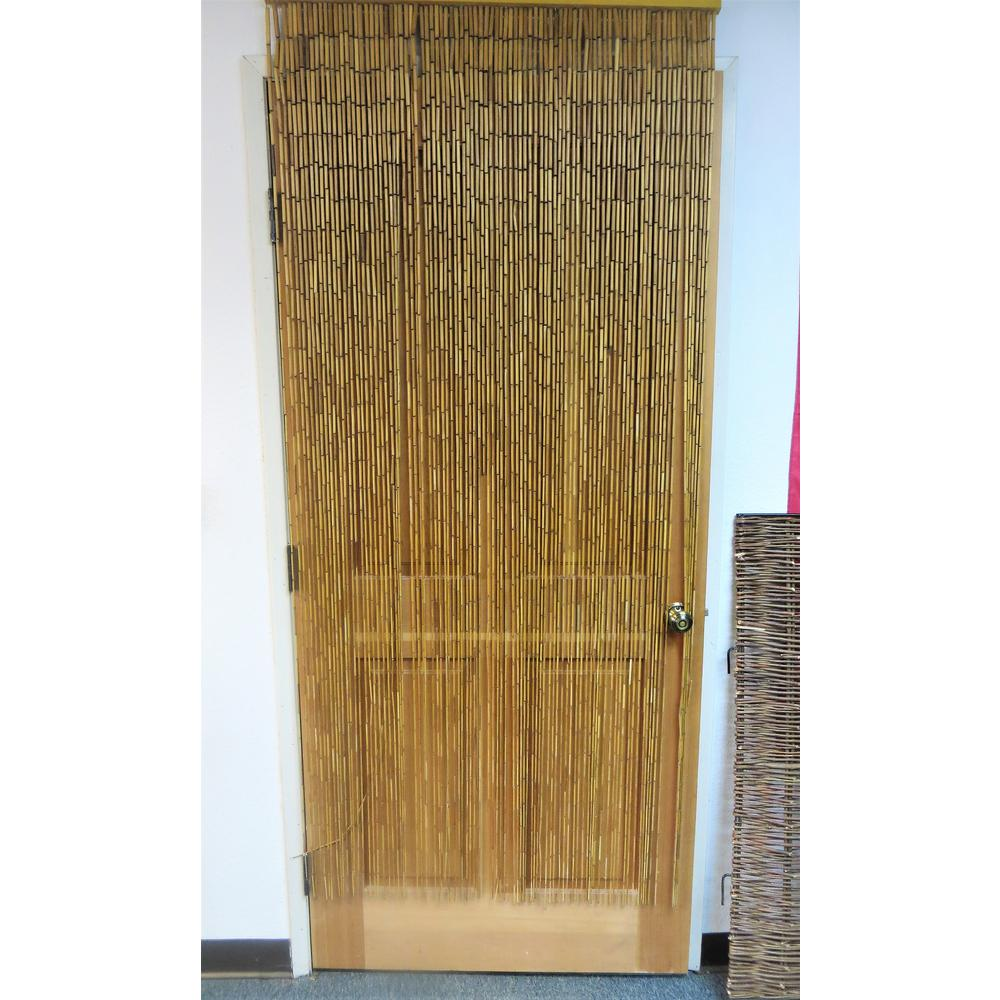 Mgp Plain Bamboo Beaded Curtain Bbc 36 The Home Depot In 2020 Bamboo Beaded Curtains Beaded Curtains Beaded Curtains Doorway