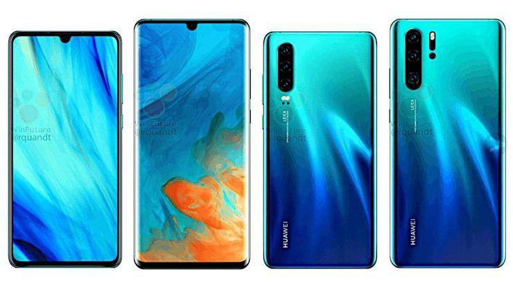 Especificacoes Dos Smartphones Huawei P30 E P30 Pro Vazam Dias Antes Do Anuncio Oficial Huawei Samsung Samsung Galaxy Phone