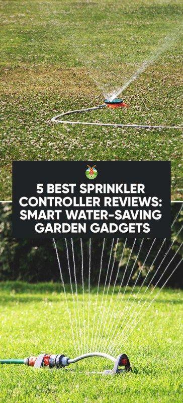 Attirant 5 Best Sprinkler Controller Reviews: Smart Water Saving Garden Gadgets
