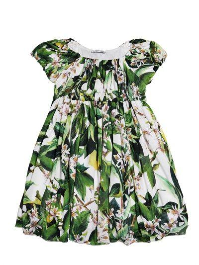 dolce amp gabbana printed modal dress luisaviaroma
