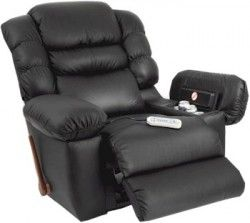 Heated Lazy Boy Chair With A Built In Fridge Landline And Massage