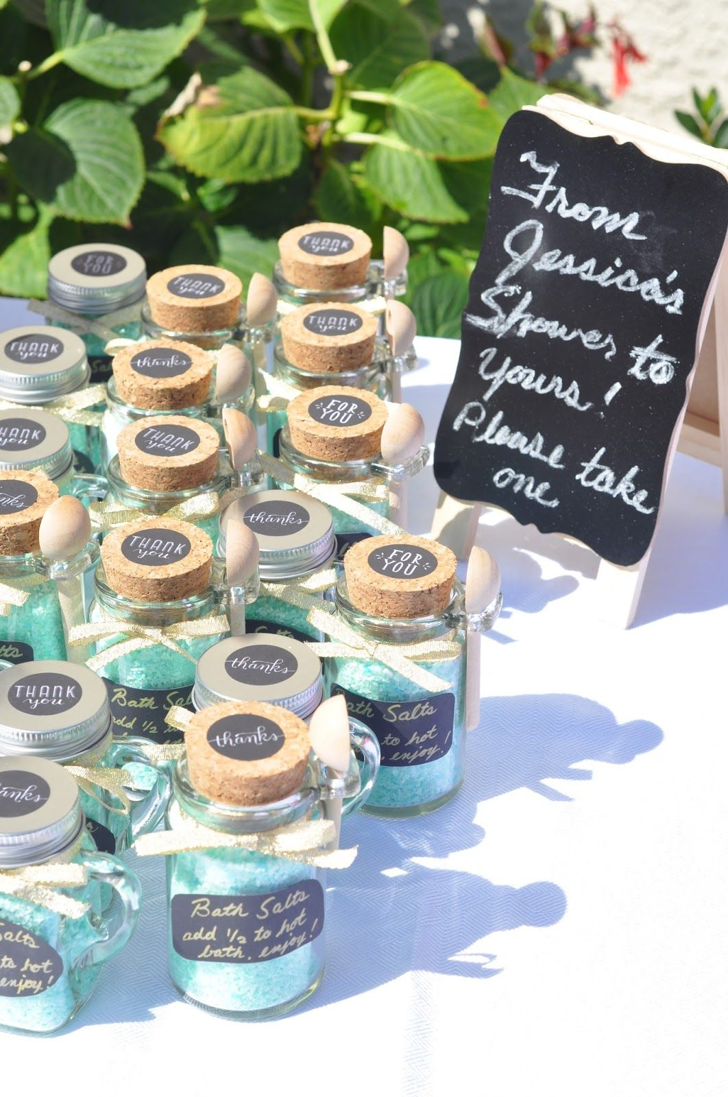 Bridal Shower Favors Bath Salts Mint To Be Therolexrelease