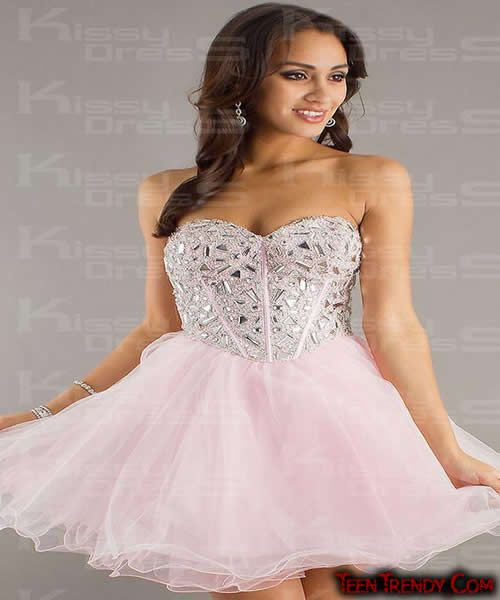 8e897ffdc8 pink-princess-tulle-a-line-sweetheart-short-mini-dress-2532-6 ...