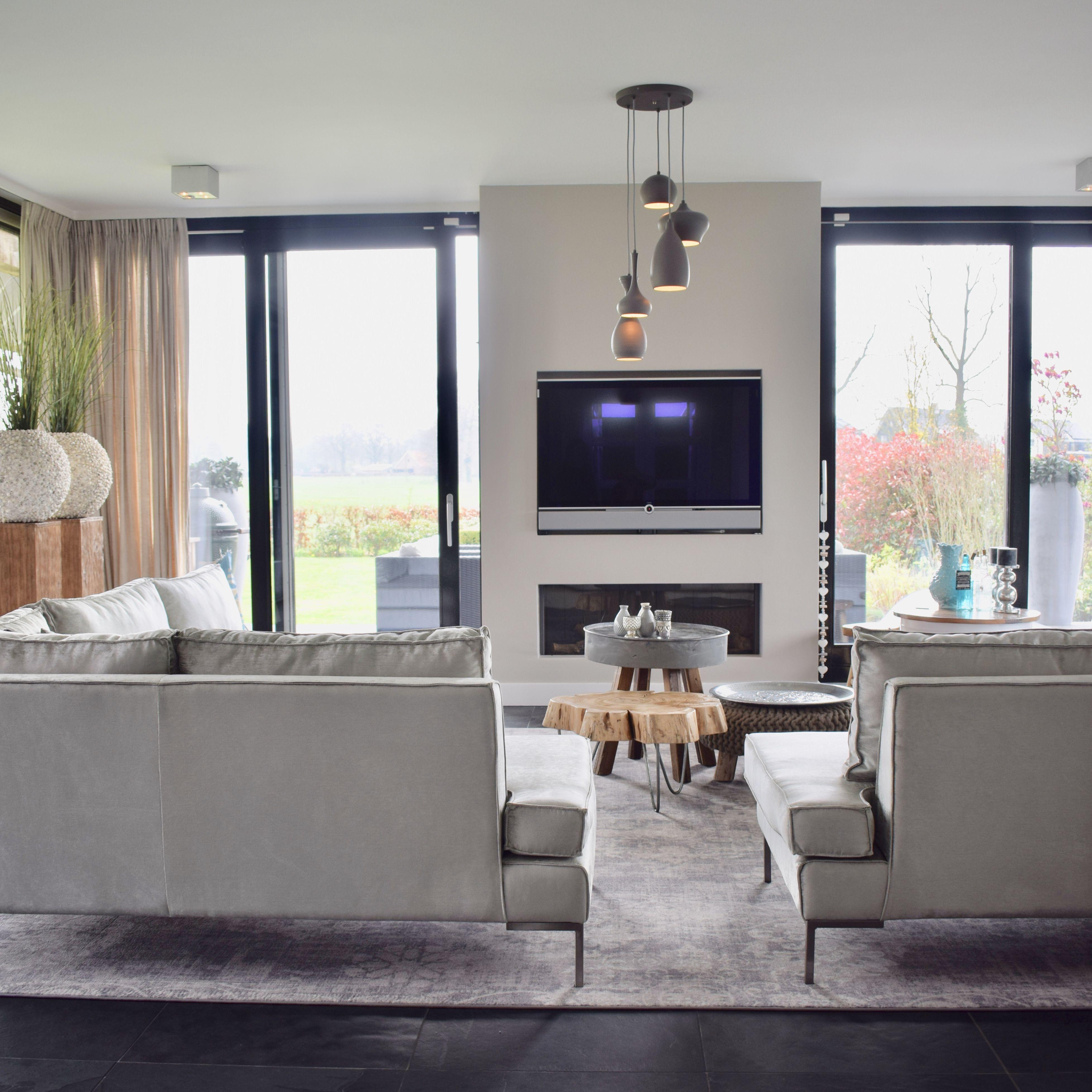 Exclusief ontwerp & styling woonkamer || bank-op-maat labelbyJosé ...