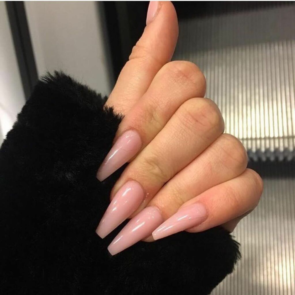 30 Fancy Coffin Acrylic Nails For 2020 Page 49 Of 99 In 2020 Long Acrylic Nails Ballerina Nails Acrylic Nail Designs
