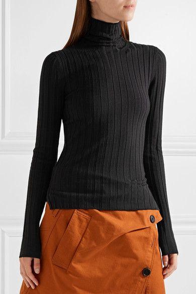 8236405a9e3 ACNE STUDIOS Corina ribbed merino wool-blend turtleneck sweater ...