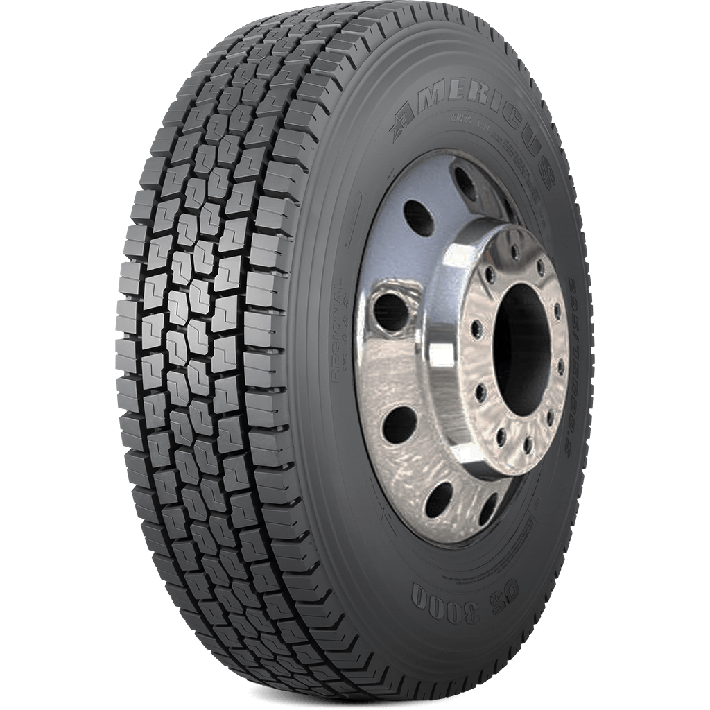 A Premium Open Shoulder Drive Tire Designed With Stable