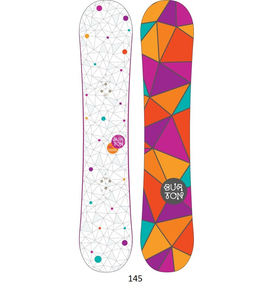 2013 Women's Genie Snowboard (With images) Snowboard