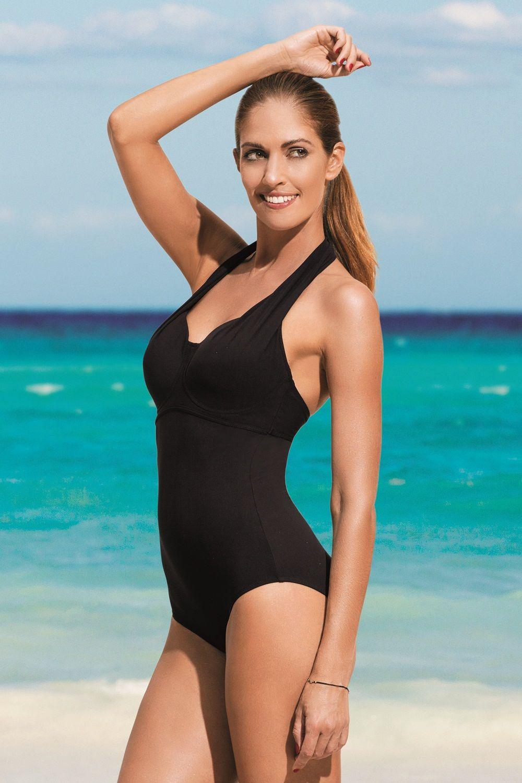 347c831fee074 Maternity One Piece Swimsuit, Black One Piece Swimsuit, Halter One Piece  Swimsuit, Mastectomy