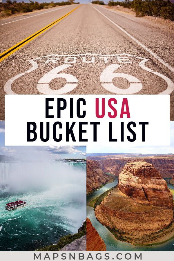 Ultimate USA Travel Bucket List: 50 Epic Places to Visit in USA
