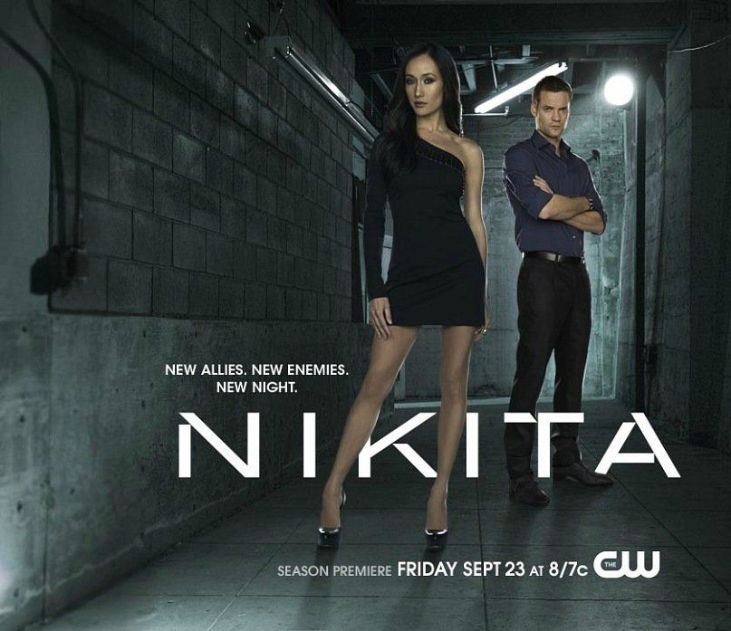 Nikita 2010 Poster Tvposter Net Nikita Tv Show Nikita Shane West