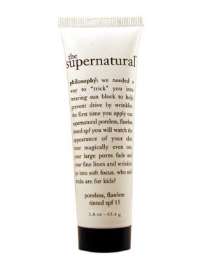 "The Best Foundations for Each Skin Type: Best Tinted Primer With SPF: Philosophy ""The Supernatural"""