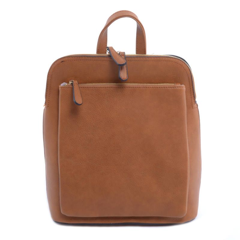 1cb26a1235 BARNA NŐI MŰBŐR HÁTIZSÁK - Műbőr - Táska webáruház - Női táskák, Férfi  táskák,