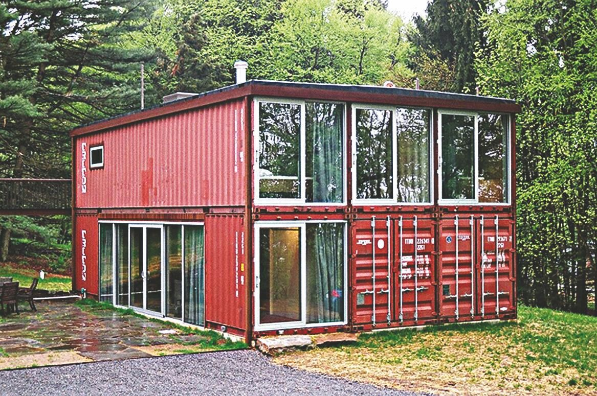 Shipping Containers Make Sturdy And Affordable Houses Container Homes Australia Sea Container Homes Container House