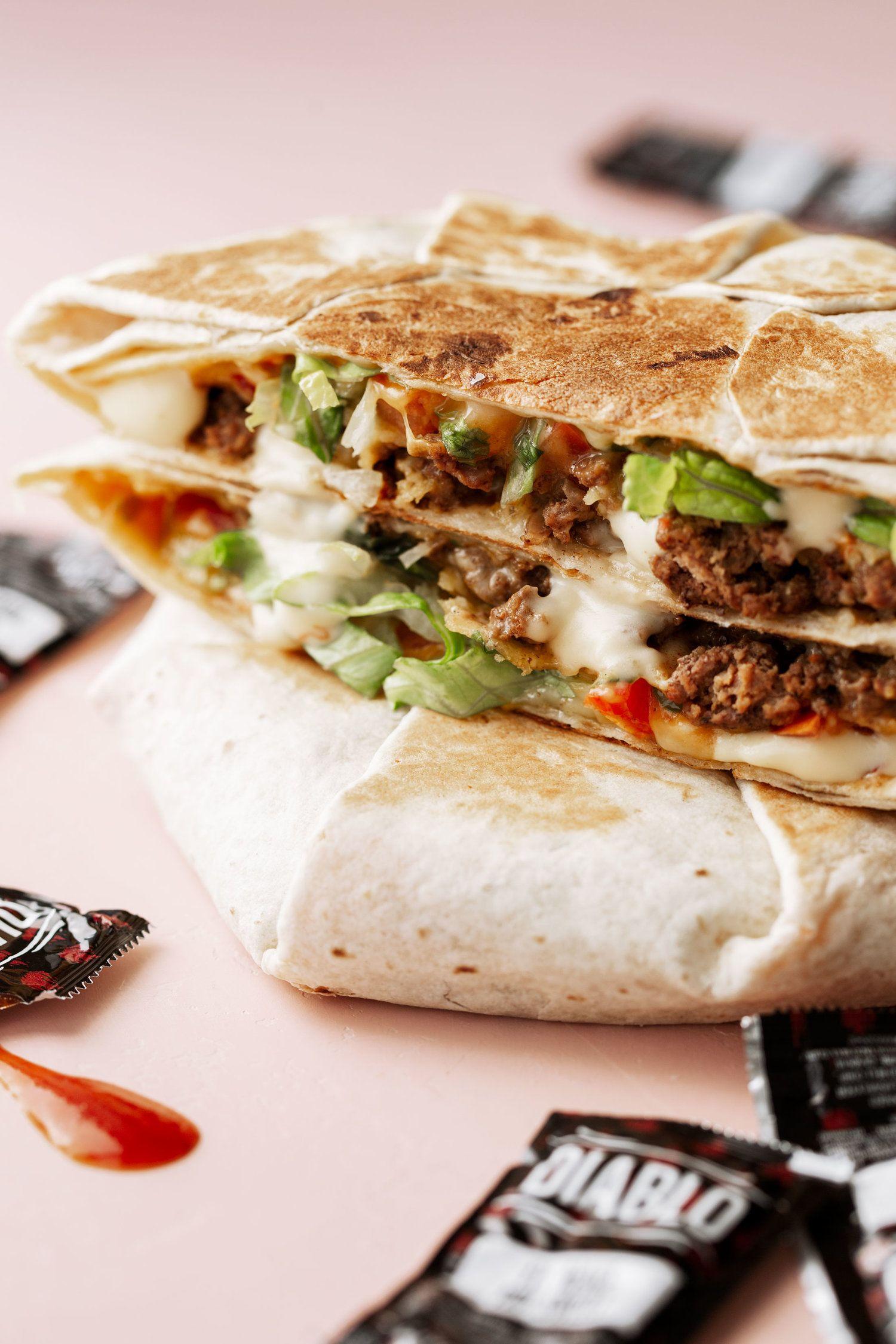 Homemade crunch wrap supreme crunch wrap supreme crunch