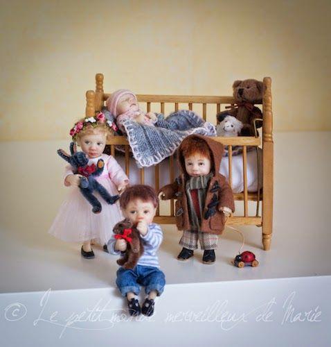 Catherine Munière. Miniatures, children
