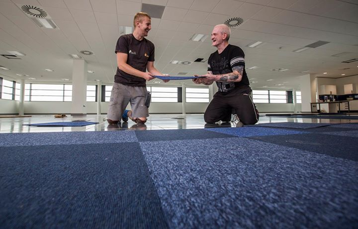 We can supply and fit flooring in spaces big and small.  Our carpet tiles are suitable for offices and homes.  And we do lots of other flooring too.  To find out more just get in touch email info@gsflooring.org.uk - http://ift.tt/1HQJd81