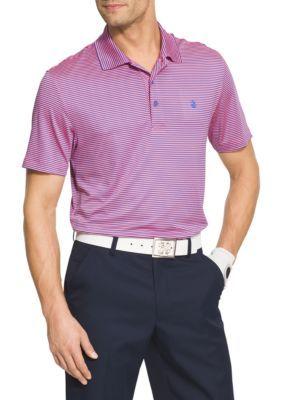 b09da970 IZOD Short Sleeve Stretch Stripe Polo Shirt   Products   Polo ...