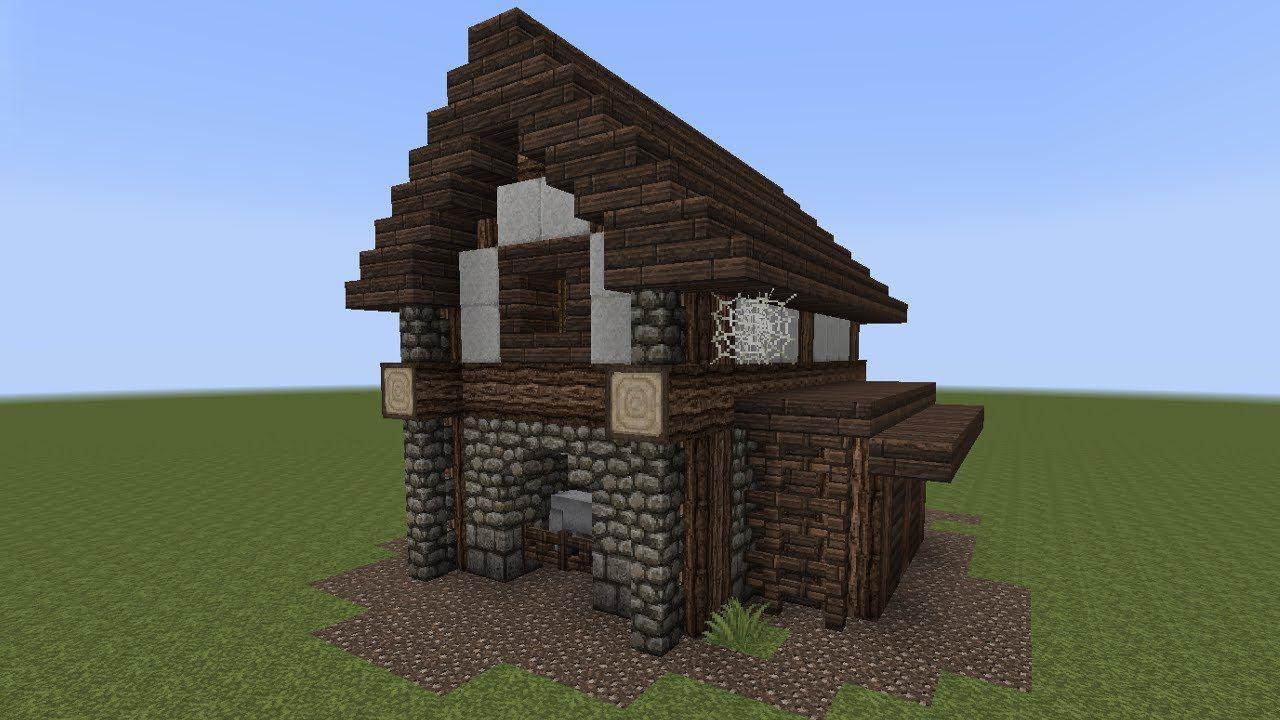 Minecraft Tutorial Einen Kleinen Stall Bauen Minecraft - Minecraft grobe hauser zum nachbauen