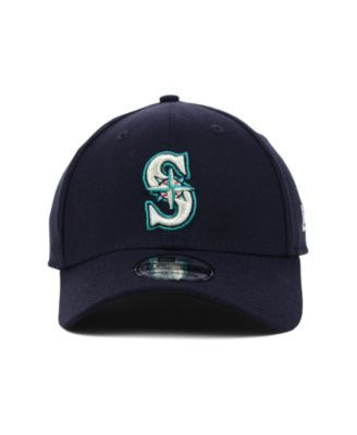 reputable site 90019 62e99 New Era Seattle Mariners Mlb Team Classic 39THIRTY Stretch-Fitted Cap -  Blue L XL